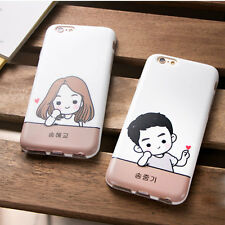 Romantic Fashion Pattern Ultra Slim Phone Case TPU Cover For iPhone6/6S Plus