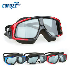 COPOZZ Swimming Goggle Large Frame Clear Lens Goggles Watersport Mask Glasses