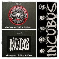 Incubus Sew On Patch Iron Rock Band Heavy Metal Music Embroidered Logo Applique