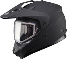GMAX GM11S Snow Sport Helmet Flat Black with Electric Shield - 6 Sizes