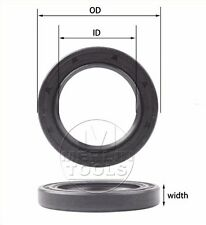 Select Size ID 35mm TC Double Lip Rubber Rotary Shaft Oil Seal with Spring