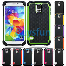 New Anti-slip Hybrid Rugged Rubber Hard Cover Case For Samsung Galaxy S5
