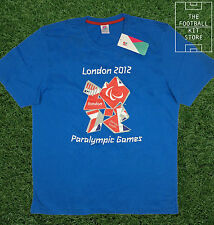 London 2012 Paralympic Games T-Shirt - Blue - Large