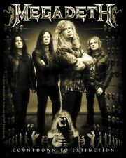 Licenses Products Megadeth Band Photo Sticker