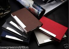 Professional Business Name, ID, Credit Card Holder Wallet Case (USA Seller)
