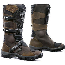Forma NEW Offroad Motorbike Waterproof Vintage Leather Brown Adventure Boots