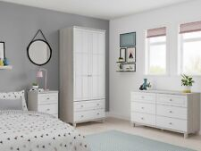 READY ASSEMBLED New Oslo 6 Drawer Wide Chest of Drawers Bedroom Furniture
