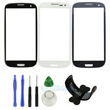 Replacement LCD Screen Glass Lens Samsung Galaxy S3 i9300 I747 + Holder + Tool