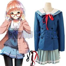 Kyokai no kanata Kuriyama Mirai Shindou Ai School girl unifrom Cosplay Costumes