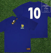 France Shirt - Toffs Licensed Retro Football Shirt - Number 10