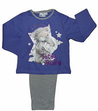 Girls Pyjamas Tatty Ted Me To You Purple and Grey Time For Bed Tatty Ted Theme