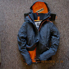 Superdry Mens Arctic Windcheater Hooded fleece lining Jacket coat free delivery