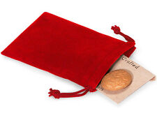 50 PCS RED 3x4 Jewelry Pouches Velour Velvet Gift Bags