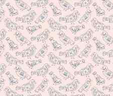 Pretty Birds Spoonflower sew fabric by the yard in a variety of cotton