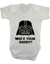"Baby Bodysuit Funny "" Who's Your Daddy?""  Baby Grow Fun  / Baby Bodysuit"