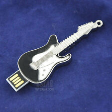 Black Guitar Pen Drive 8GB-32GB USB 2.0 Memory Stick USB Flash Drive Thumb Drive