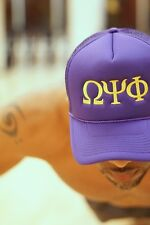 Omega Psi Phi Southern Boy trucker, purple - hat cap baseball - Que Dawg