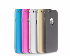 Aluminium Frame Shockproof Case Back Cover for Apple iPhone 5 5s SE 6 6s Plus