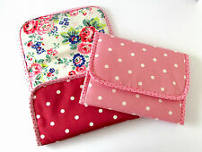 Foldable baby travel changing mat for bag -Cath Kidston Spray Flower Oilcloth