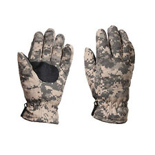 ACU Digital Army Camo Insulated Cold Weather Hunting Hiking Snow Winter Gloves