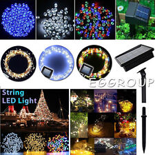 10-32M 100-300LED Solar Powered Fairy String Lights Garden Christmas Party Lamp