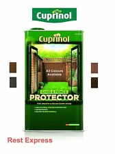 Cuprinol Shed & Fence Protector - Exterior Wood Stain & Preserver, 5 Litre (5L)