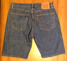 New Mens Levi's 550 Denim Shorts ~ Med Wash ~ 40 ~ New without Tags