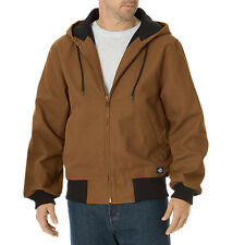 MEN DICKIES TJ745BD SANDED DUCK THERMAL LINED HOODED JACKET