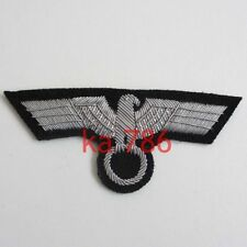 WWII GERMAN OFFICER BREAST BADGE ON BLACK BACKING