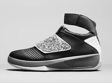 Retro Air Jordan 20 XX Playoff Black White Cool Grey 310455 003 Mens Size 9 9.5