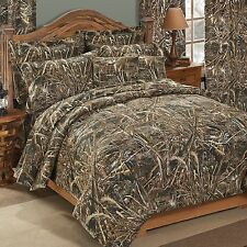 Realtree® Max 5 Camo 9 pc Bed in Bag Set - Cabin, Lodge, Hunting, Camouflage