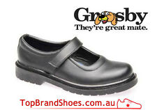GROSBY KIDS / GIRLS / YOUTHS / JUNIOR LEATHER SCHOOL SHOES / straps  - NEW