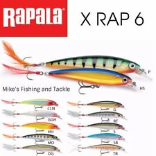 Rapala X-Rap XR6 Hardbody Lure ....NEW IN BOX
