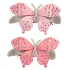 Fashion Women Crystal Acrylic Flower Butterfly Barrette Hair Clip Clamp Hairpin