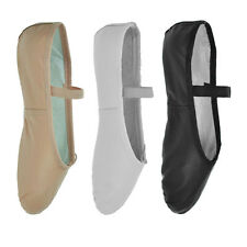 So Danca 'BAE90' Leather Ballet Shoes - Black, Pink or White