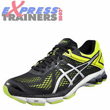 Asics Gt 1000 4 Mens Premium Running Shoes Fitness Gym Trainers Black FY