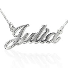 Personalised .925 Sterling Silver Name Necklace - Any Name of Your Choice
