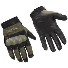 Wiley X Cag-1 Gloves Tactical Knuckle Combat Military Heavy Duty Foliage Green