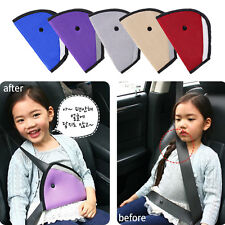 Baby Kids Car Safety Cover Strap Adjuster Pad Harness Toddler Seat Belt Clip New