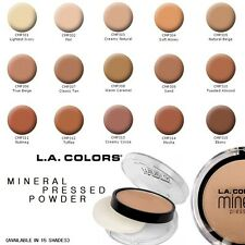 L.A. Colors Mineral Pressed Powder (Available in 15 Shades)