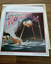 VINYL LP RECORDS JEFF WAYNE WAR OF THE WORLDS 2 LP SET INNER BOOK