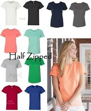 Hanes Ladies ComfortSoft Cotton T-Shirt 5680 S-3XL Relaxed Fit - 12 COLORS!