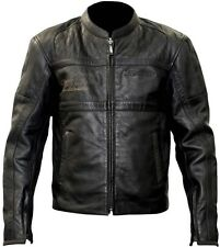 RST NEW Classic TT Retro Leather Black Racing Street Motorcycle Road Bike Jacket