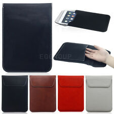 """Luxury Magnetic Leather Sleeve Pouch Bag Case Cover For 7"""" 7.9"""" 8"""" Tablet PC MID"""