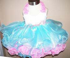 National Pageant Dress Shell  babydoll style sizes 6mos to 3/4 Toddler