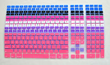 Colored Waterproof Keyboard Cover Skin for iMac Wired Keyboard, Apple Desktop G6