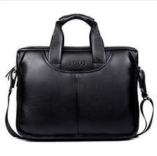 Men's PU Leather Shoulder Messenger Bags Tote Briefcase Fasion Handbag Polo