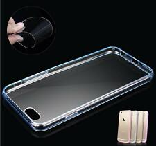New CLEAR Back TPU Gel Bumper Case Cover For Apple iPhone 4/4S 5/5S 6 6S plus