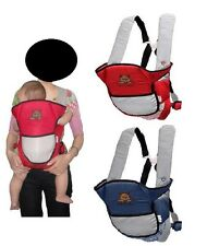 4 Ways Newborn Infant Adjustable Comfort Baby Carrier Sling Rider Backpack Wrap