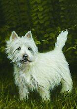 """West Highland White Terrier: House Flags and Garden Flags. 3 designs. 28 X 40"""""""